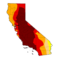 California drought conditions 2015